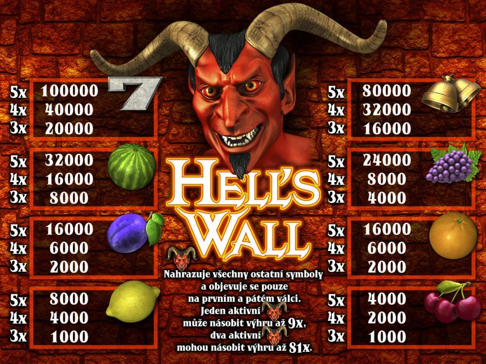 HELL´S  WALL
